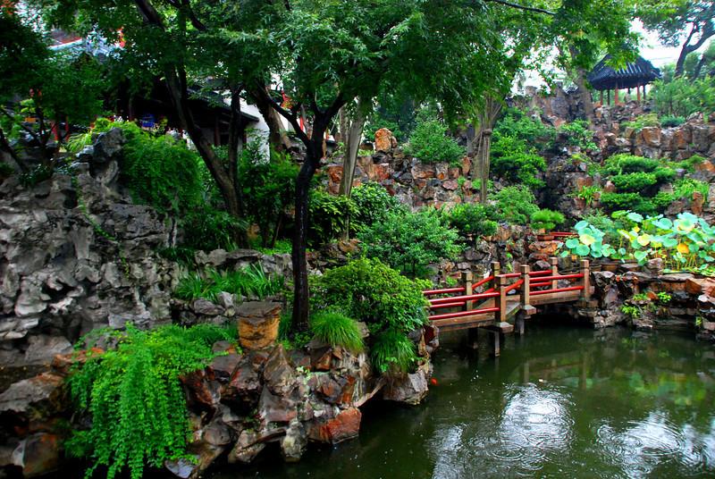 Shanghai's Yuyuan Garden of 1559 Ming Dynasty