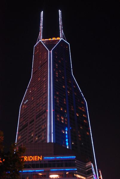 Neon Tower in Shanghai