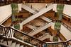 Shanghai Museum: Atrium and Escalators