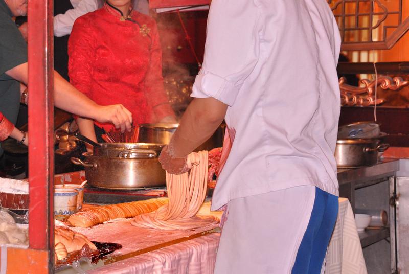 Shanghai noodle making 6