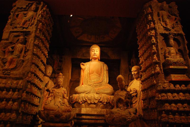 Xi An Museum 23 Song Dynasty Buddha of Zhongshan Grottoes