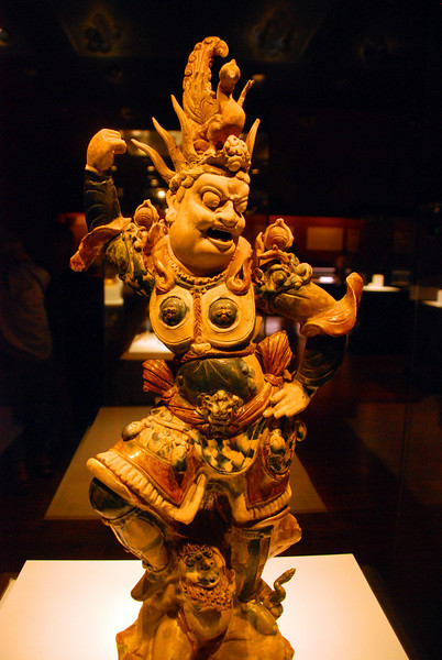 Xi An Museum 20 Tang Idol in Pottery