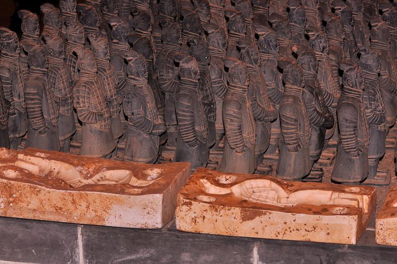 Xi An Terra Cotta Army 4 Facimilies