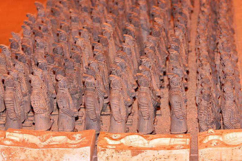 Xi An Terra Cotta Army 7 Facimilies
