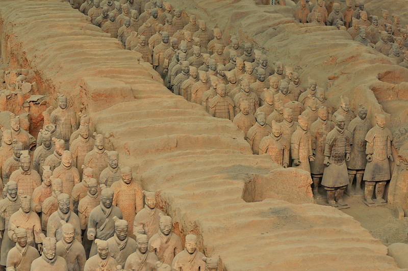 Xi An Terra Cotta Army 13