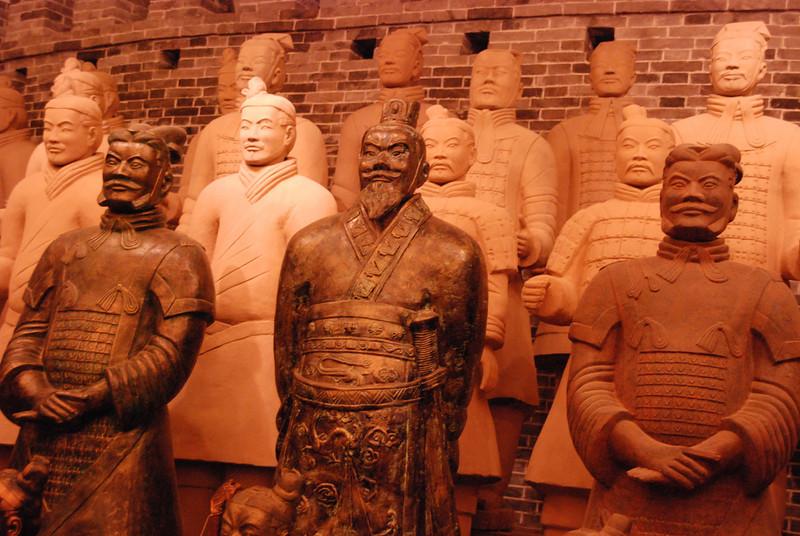 Xi An Terra Cotta Army 5 Facimilies
