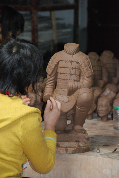 Xi An Terra Cotta Army 2 Facimilies