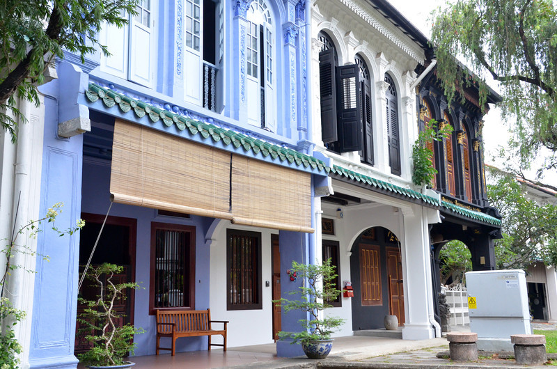 Old style Peranakan houses in Singapore (1)