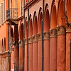 Columns and Arches, Bologna, Italy.