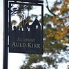 Auld Kirk Sign