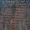 Peden Headstone