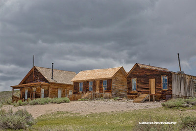 3 homes in Bodie Ca.