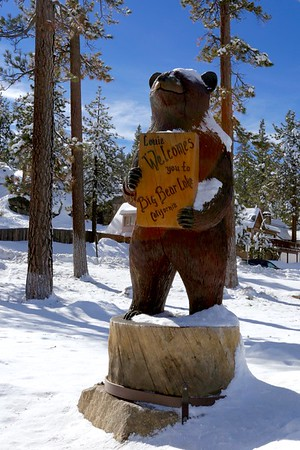 Welcome to Big Bear lake