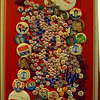 Pins of election.