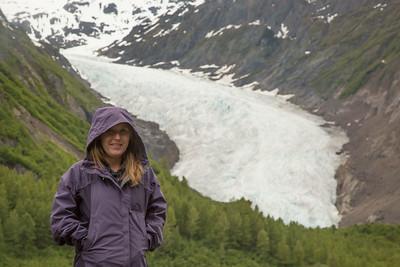 Alex and Bear Glacier