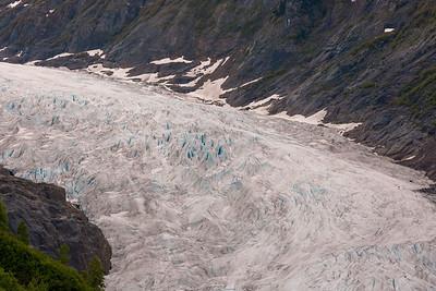 The Blues of Bear Glacier