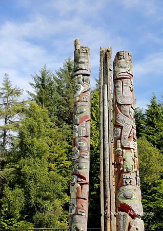 totems in Prince Rupert