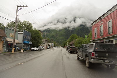 Streets of Stewart BC.