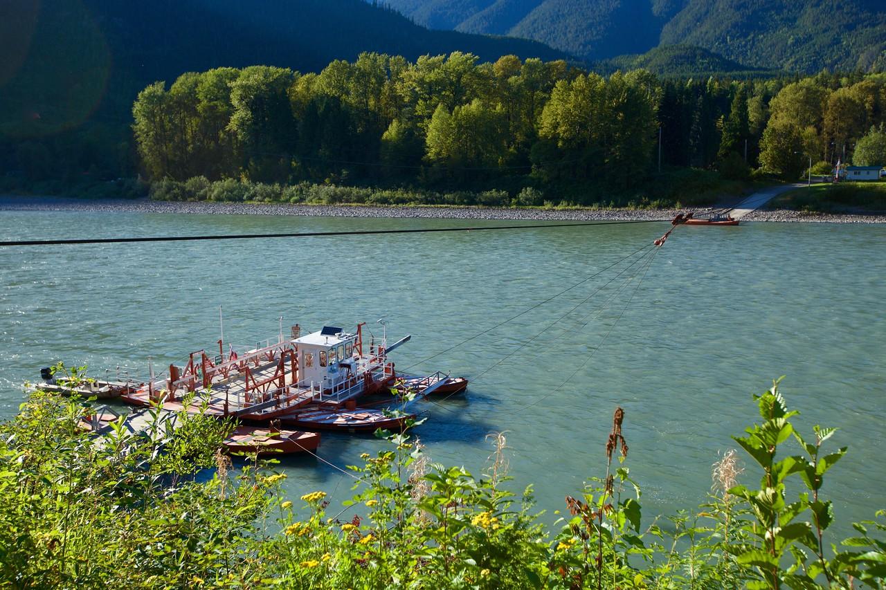 Usk BC  Ferry