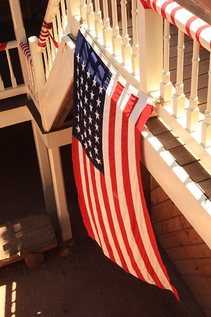 American Flag with 35 stars