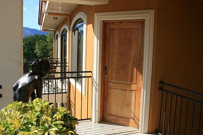 The Door to my 3rd Floor Apartment
