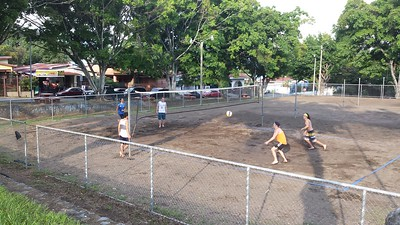 Volleyball is Really BIG in Atenas!