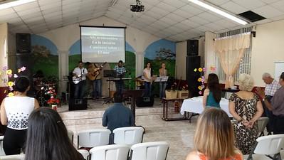 Inside Iglesia Biblica
