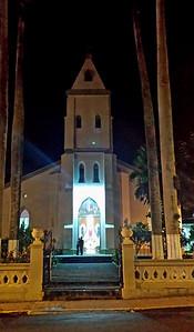 Church at Night - Iglesia de San Rafael