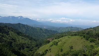 View from La Casita del Cafe