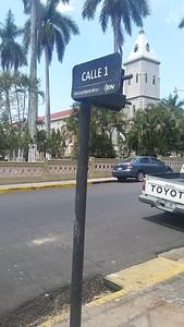 Catholic Church at Central Park, Calle 1 & Avenida 0