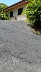 My little side drive & 1-car parking space beside by house.