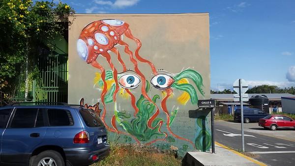 Graffiti at Atenas Clinic