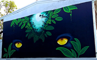 Mural at Pachacuti Art Shop