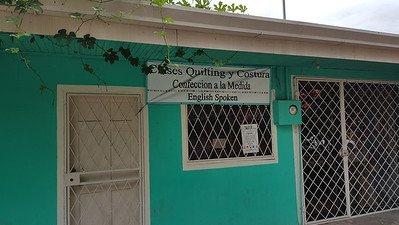 Clases Quilting y Costura = Classes In Quilting and Sewing    -   Confeccion a la Medida = Dressmaking to the Measurements or Tailor Made Dresses