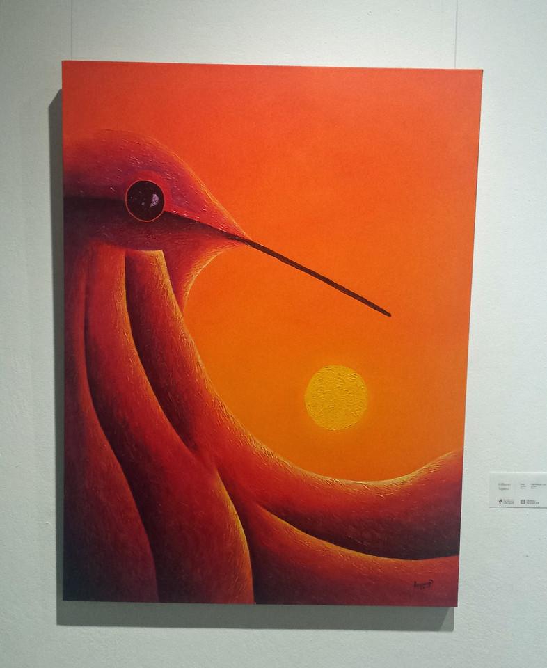 Piece of Art at International Exhibit, Children's Museum