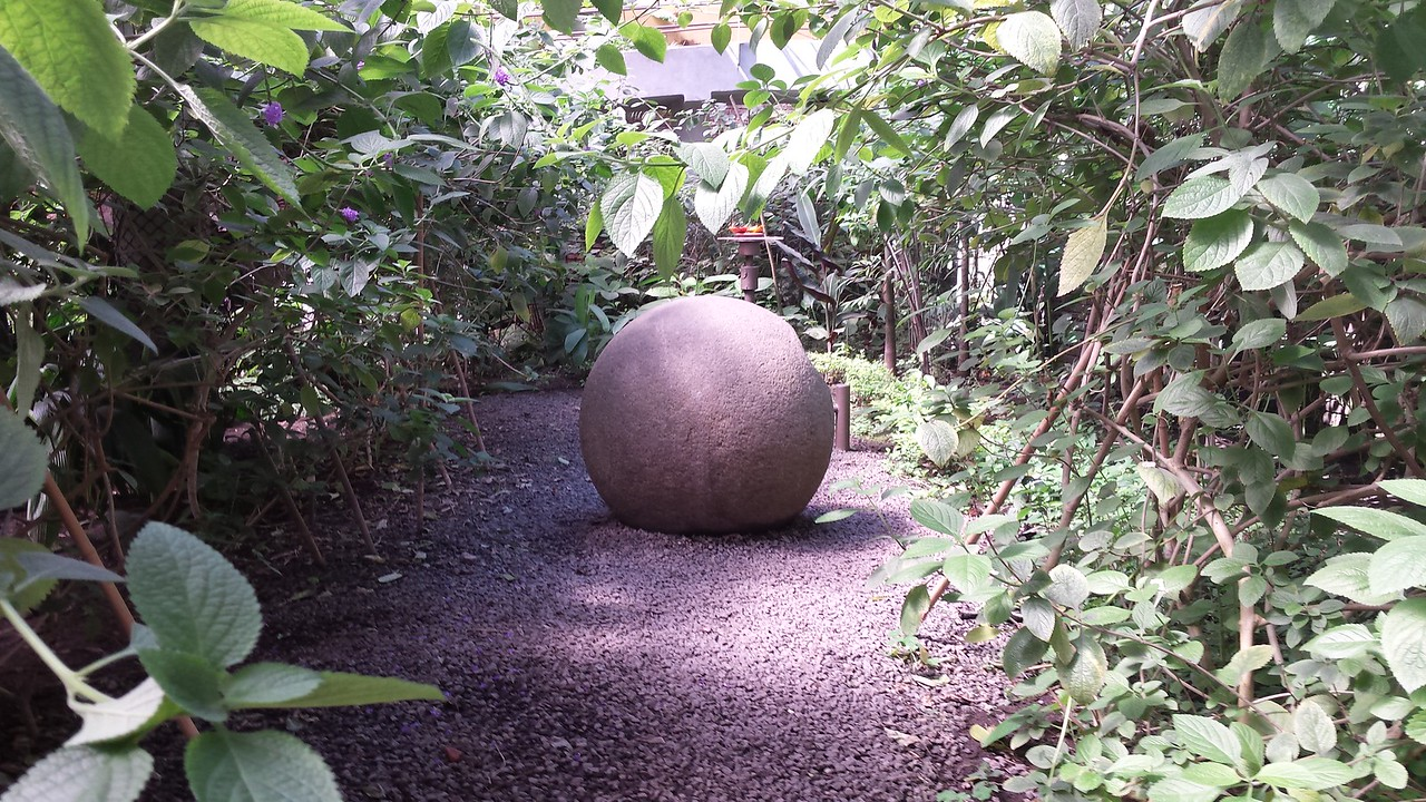 Prehistoric Stone Sphere at National Museum