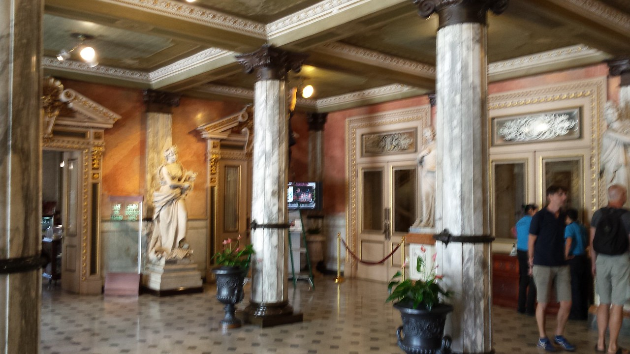 Lobby of Teatro Nacional - Lobby of National Theater
