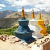 Colorful Stupas