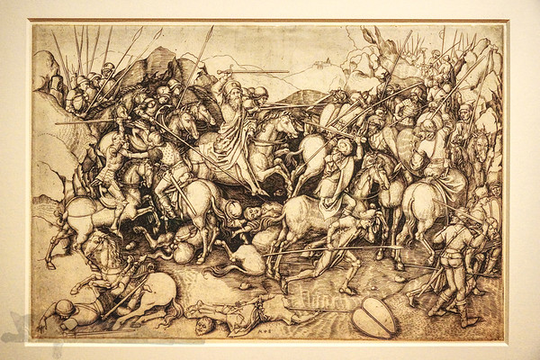 The Battle of St. James The Greater at Clavijo