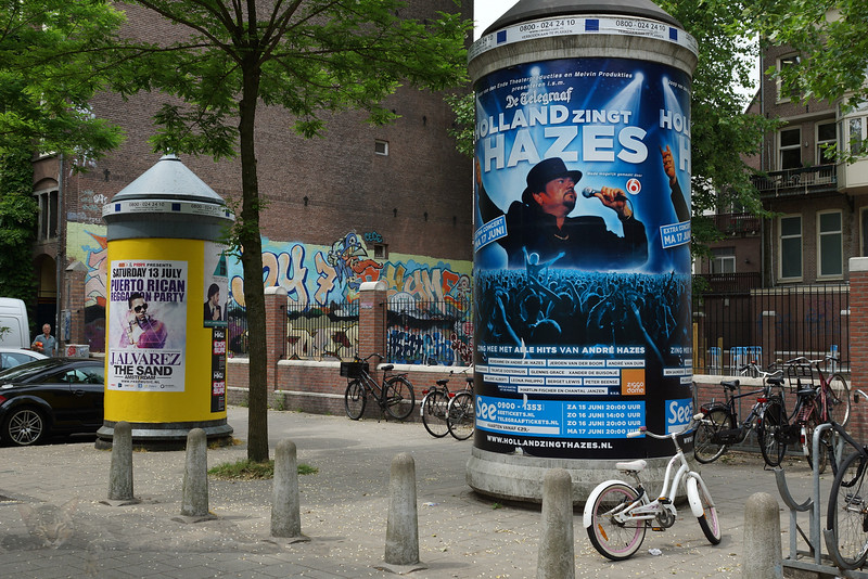 Billboards on the Street - Amsterdam