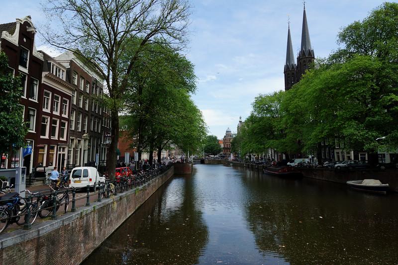 Singel CaSingel Canal - South From Wijde Heisteeg, Amsterdam