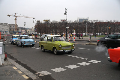 Trabants in Berlin