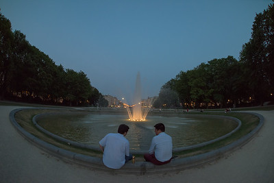 Park de Cinquentainare, Brussels, Belgium