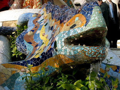 Sculpture - Gaudi buildings and architecture in Barcelona