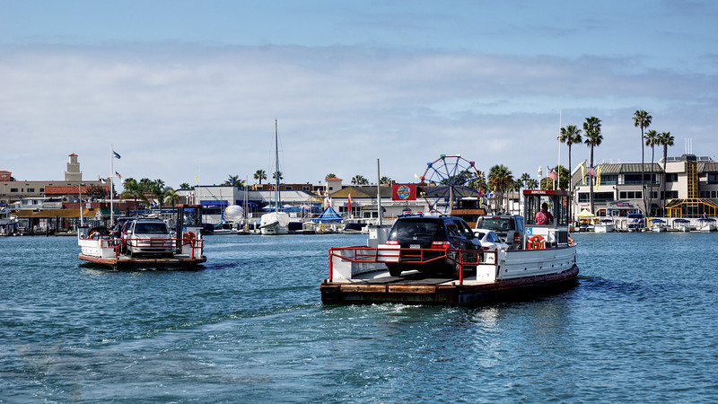 Balboa Island Ferry - California