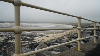 Railings by the Sea