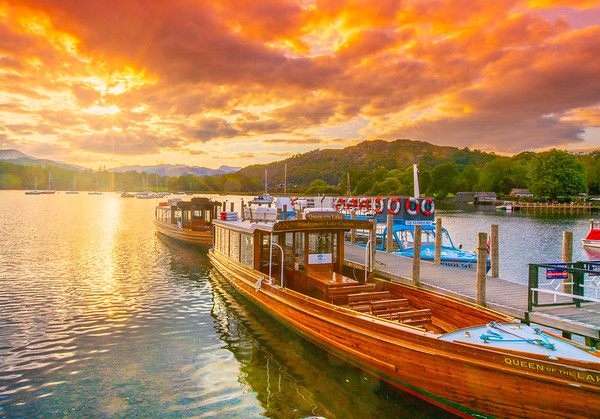 Queen of the Lake, Lake Windermere