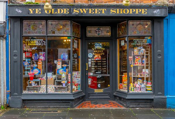 Ye Olde Sweet Shoppe, Wells, Somerset, England