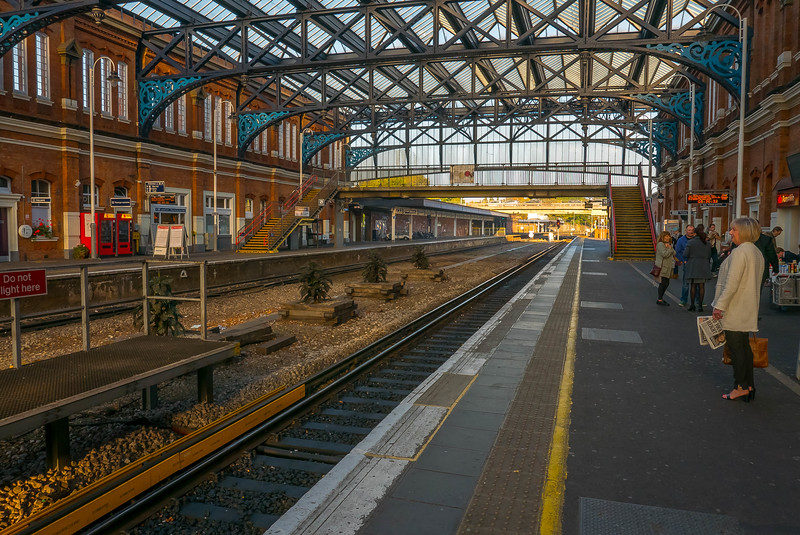 Bournemouth Railway Station Southwest, Dorset, England