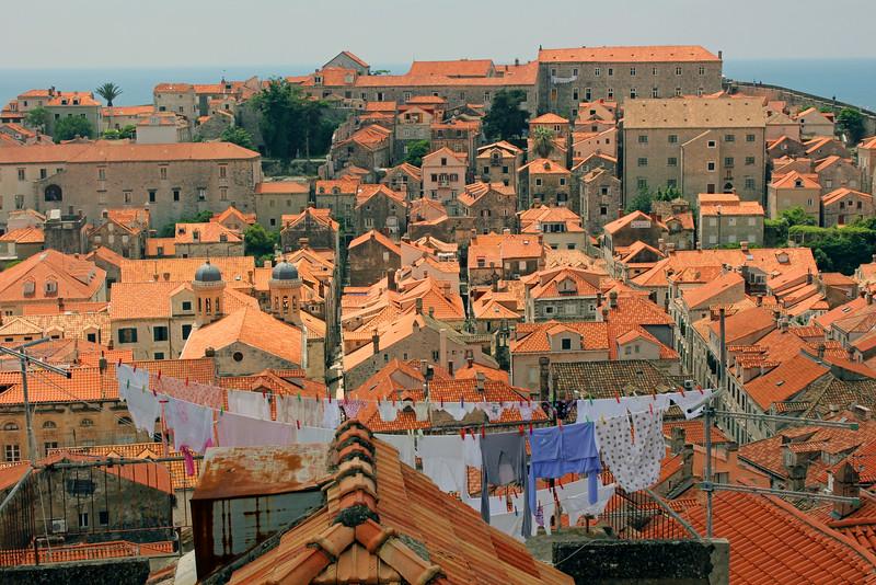 Dubrovnik Clothes Line